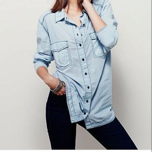 Free People Last Chance Chambre Button D